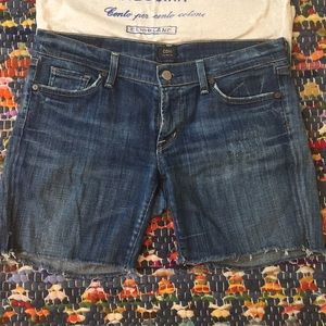 Citizens Of Humanity Shorts - Citizens of humanity cut off Jean shorts